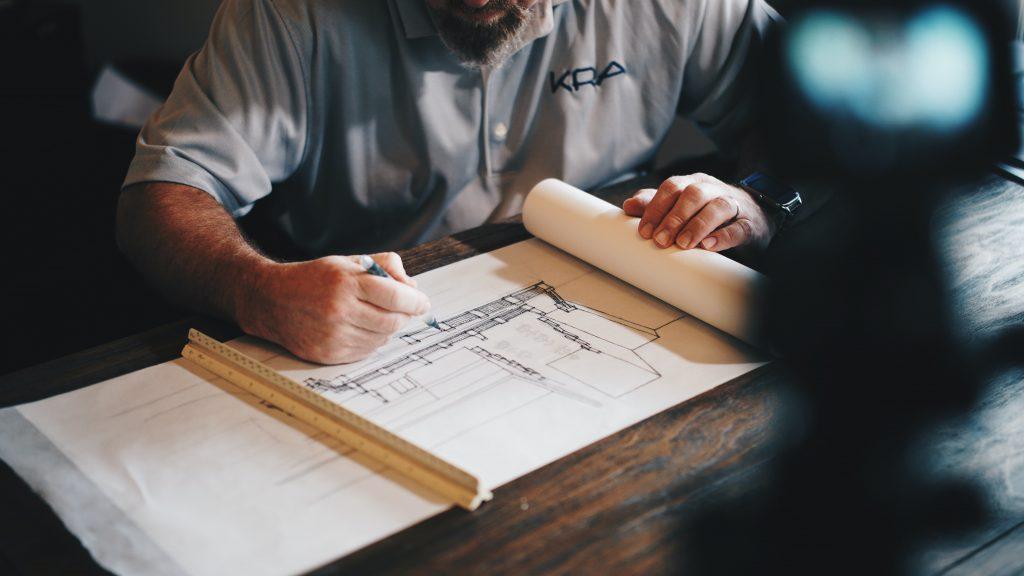 tekening nieuwbouwproject - Lighthouse Club